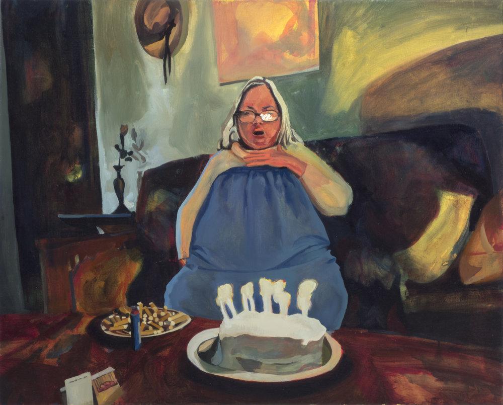 Susanne, 30in x 40in