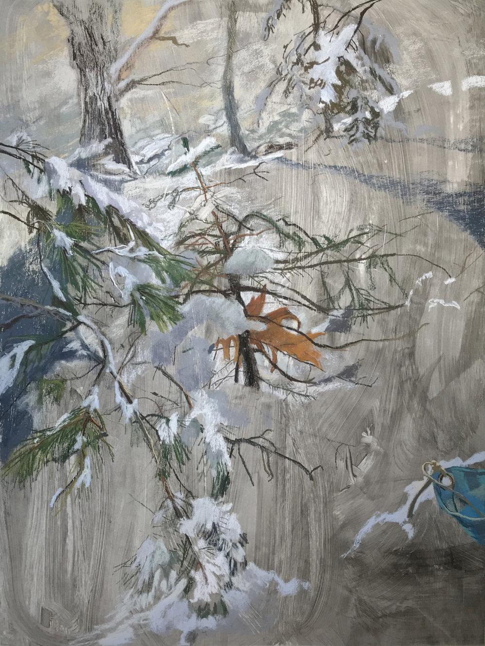 C.B. Oak Leaf, 34in x 46in