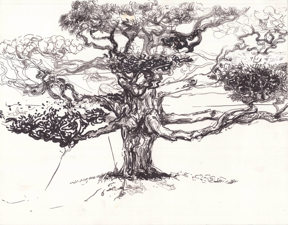 Japanese Garden, 12in x 15in