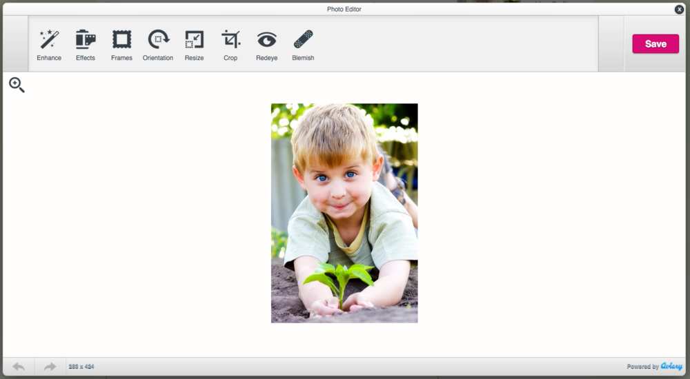 Advanced Image Editor - Educa