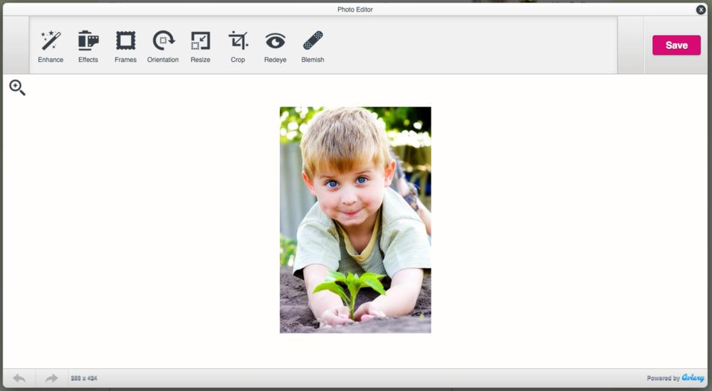 Advanced Image Editor - Educa