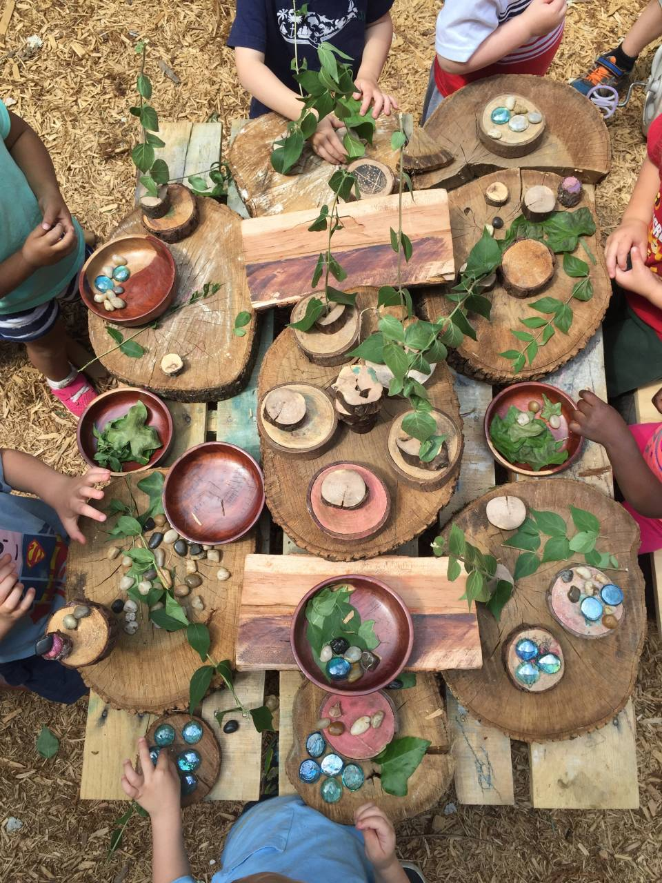 Picture Source: Willow School:Provocations on the Playground