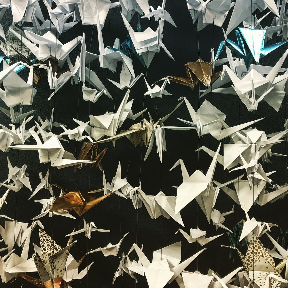 Source: Pixabay - Origami peace cranes