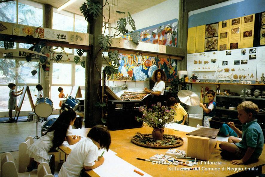 Atelier della Scuola Comunale dell'infanzia Diana