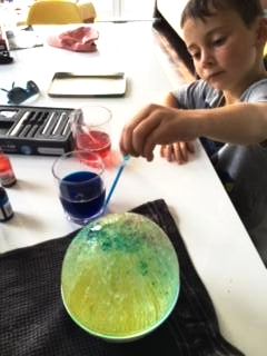 Using a dropper - fine motor skills in action