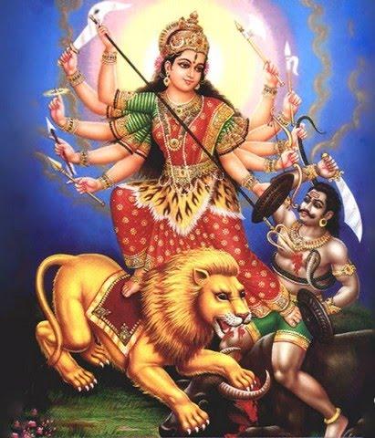 Durga: Goddess of Strength & Power