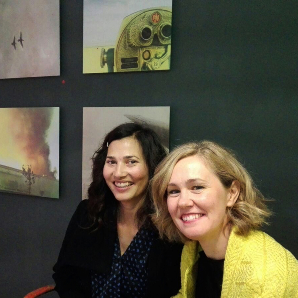 Heidi and Ana, Artist and Curator-resized.jpg