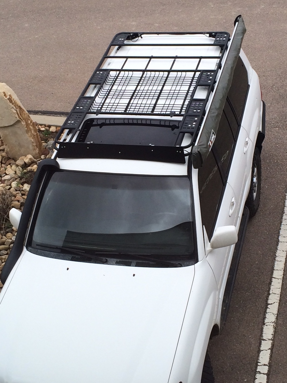 roof rack outbaxcamping pajero bars lockable mitsubishi np nw cross car robar racks