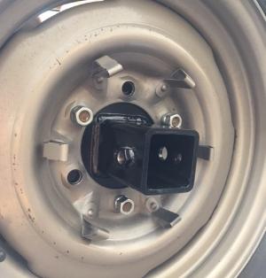 Spare Tire Receiver System