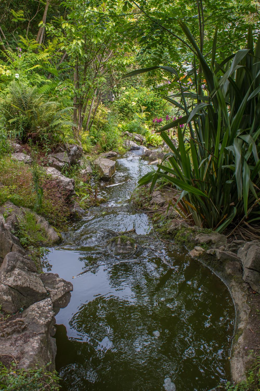 Rockery pond