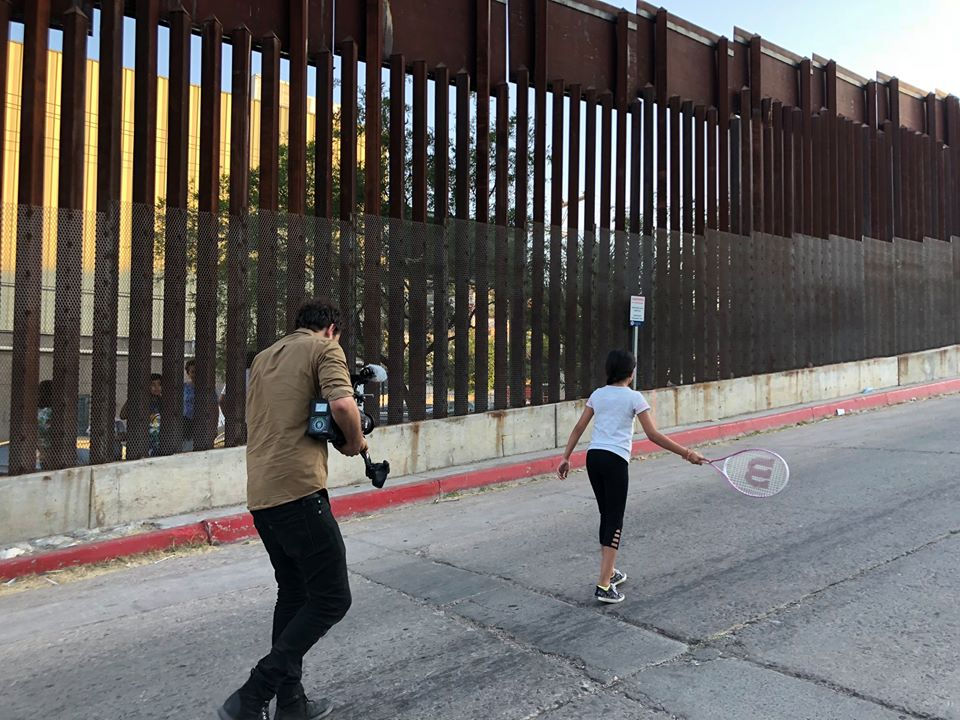 Uncovering Truth on the Border - We see tennis as a metaphor for the border itself. Lots of back and forth, but the same goals.