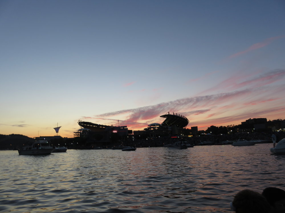 Sunset over Heinz Field.JPG