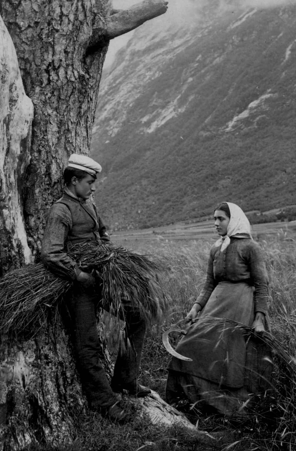 Foto:Axel Lindahl. Tilhører Norsk Folkemuseum.