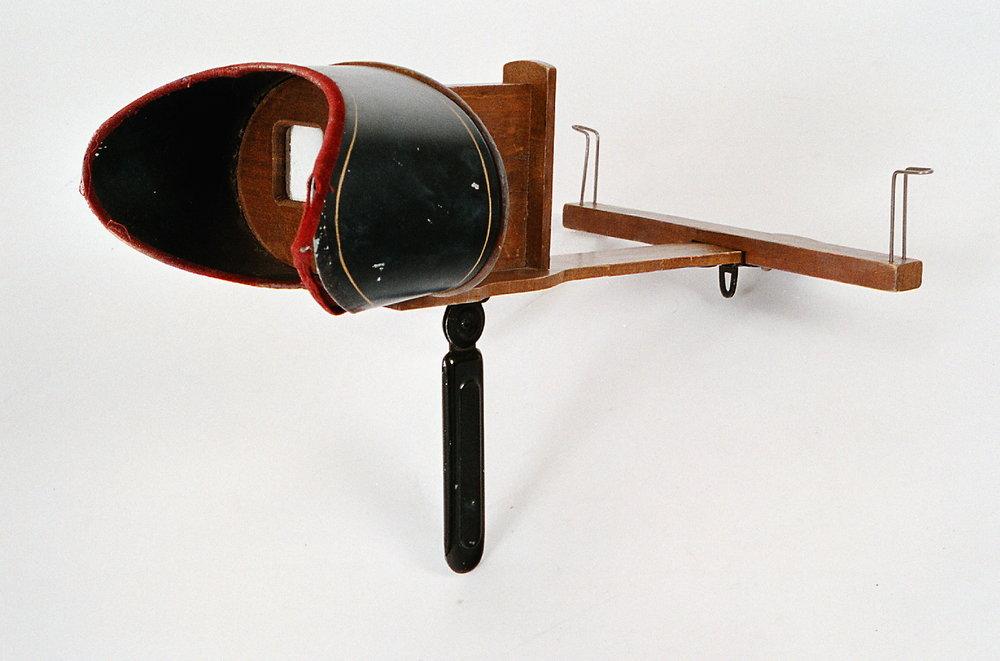 Stereoskop, ca 1900. NTM11640. Norsk Teknisk Museum