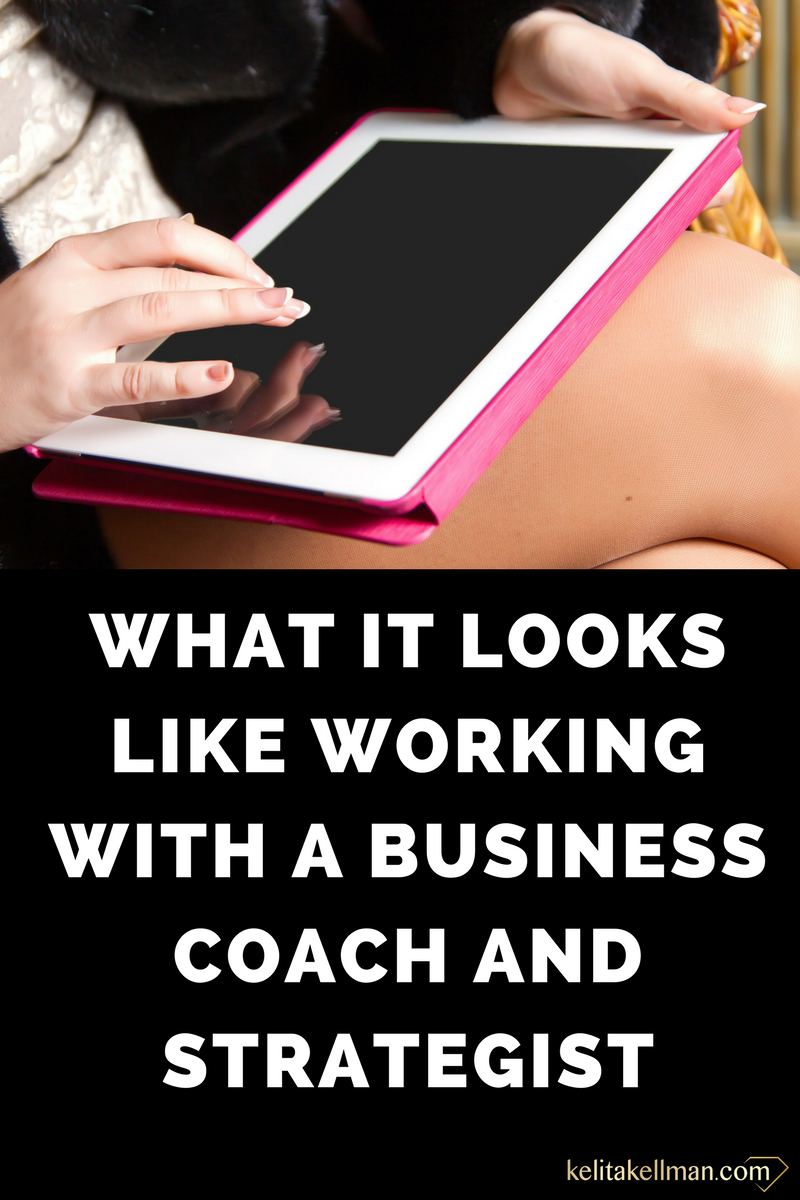 work with business coach business strategist