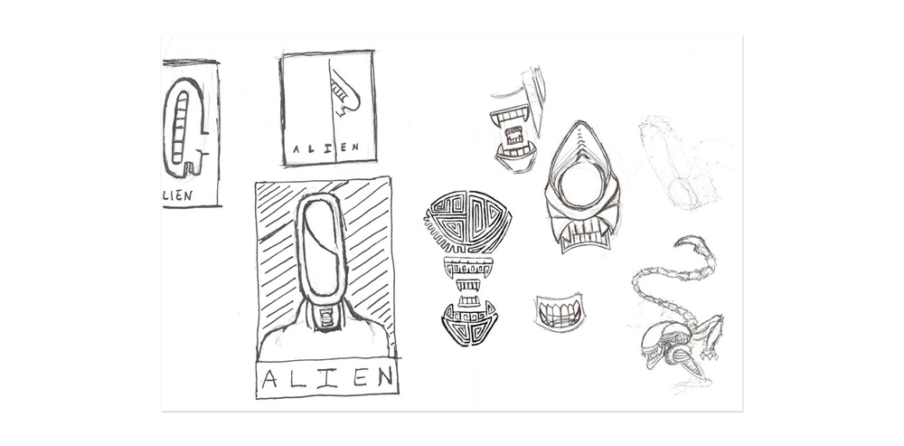 alien_poster_rough_sketches