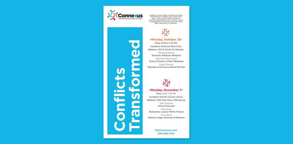 Connexus Event Poster