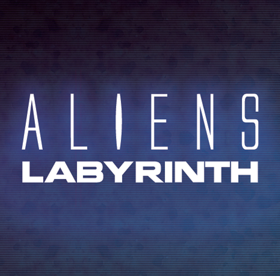 Aliens Labyrinth Mobile Game Branding + User Experience