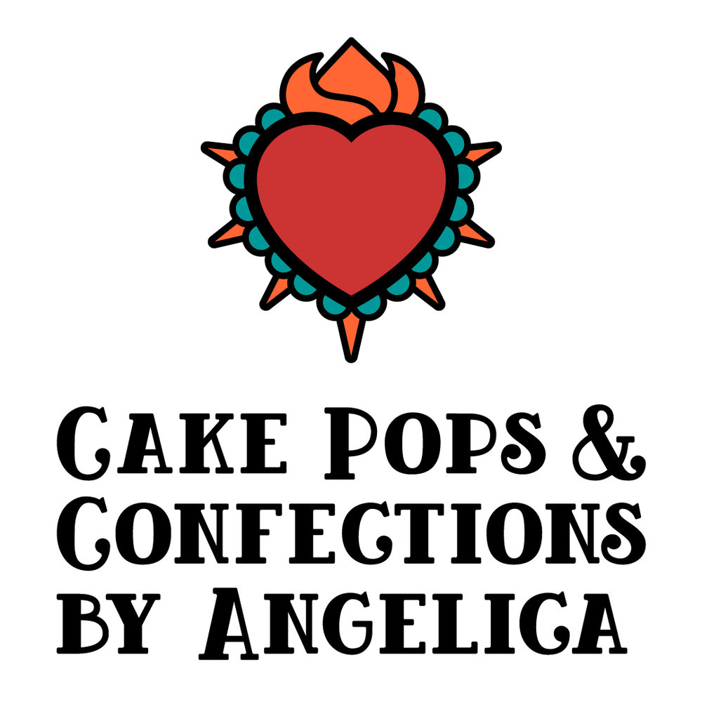 Cake Pops & Confections by Angelica Brand Identity