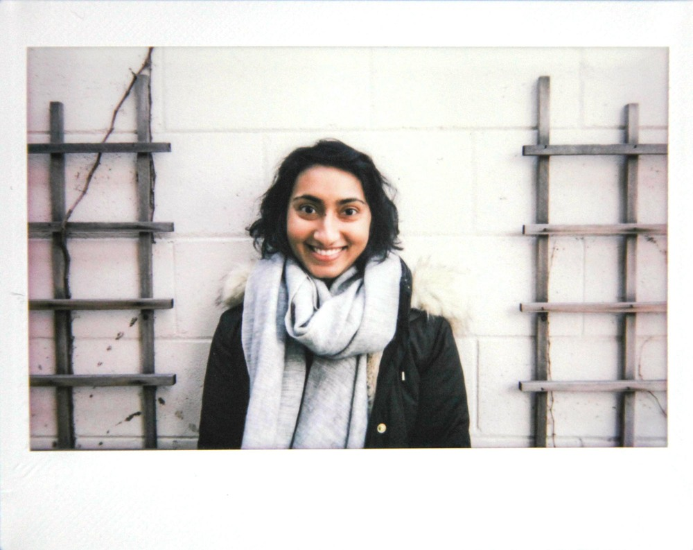 polaroid from my interview. happy face!