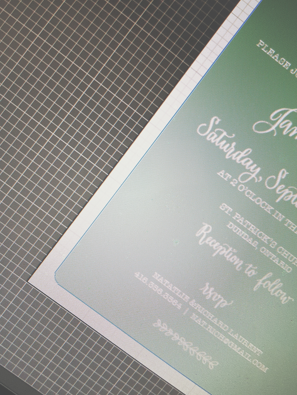 Sneak Peek! New invitation designs