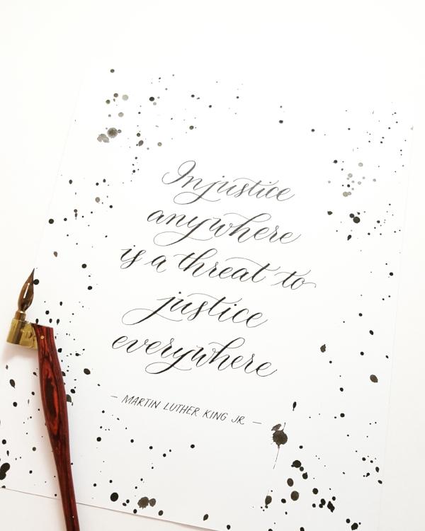 custom justice quote