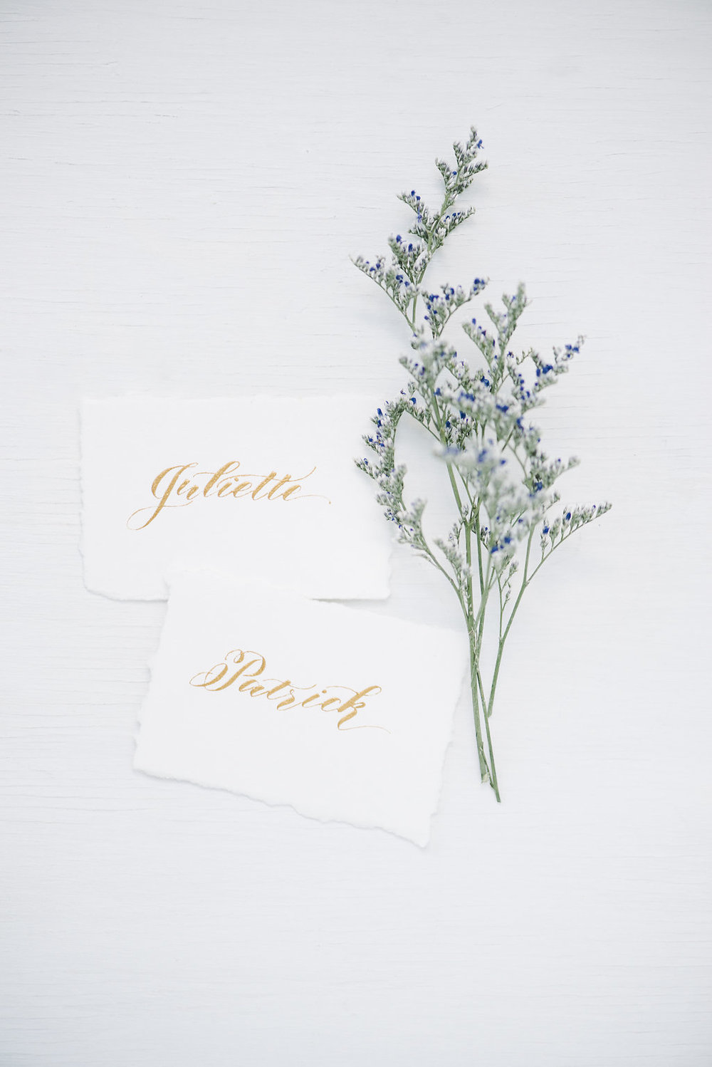 Rustic Wedding - Placecards