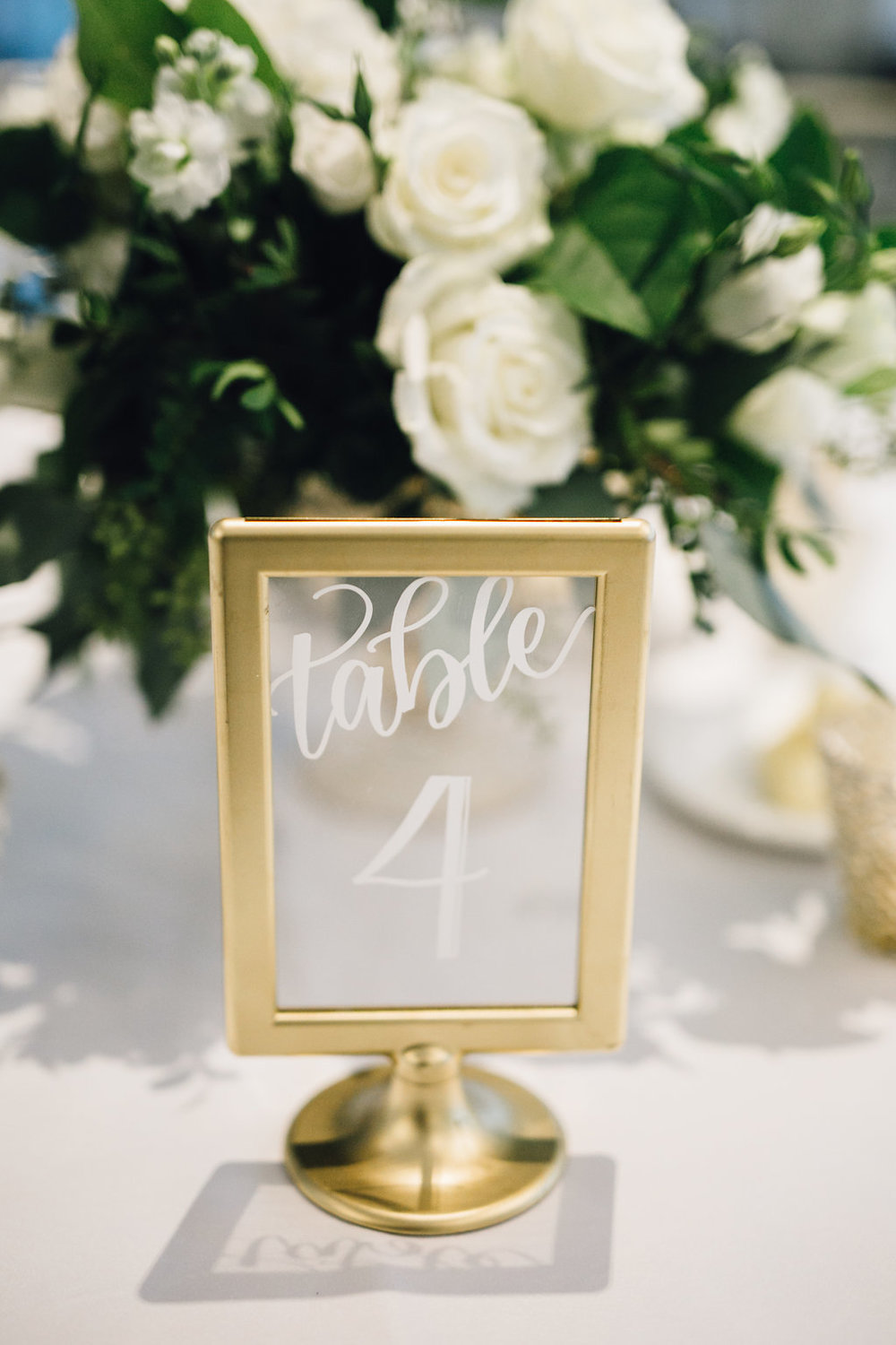 New Year's Eve Wedding- Table Numbers