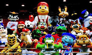 <strong>CELEBRITY MASCOT GAMES<br>Show Writing</strong>