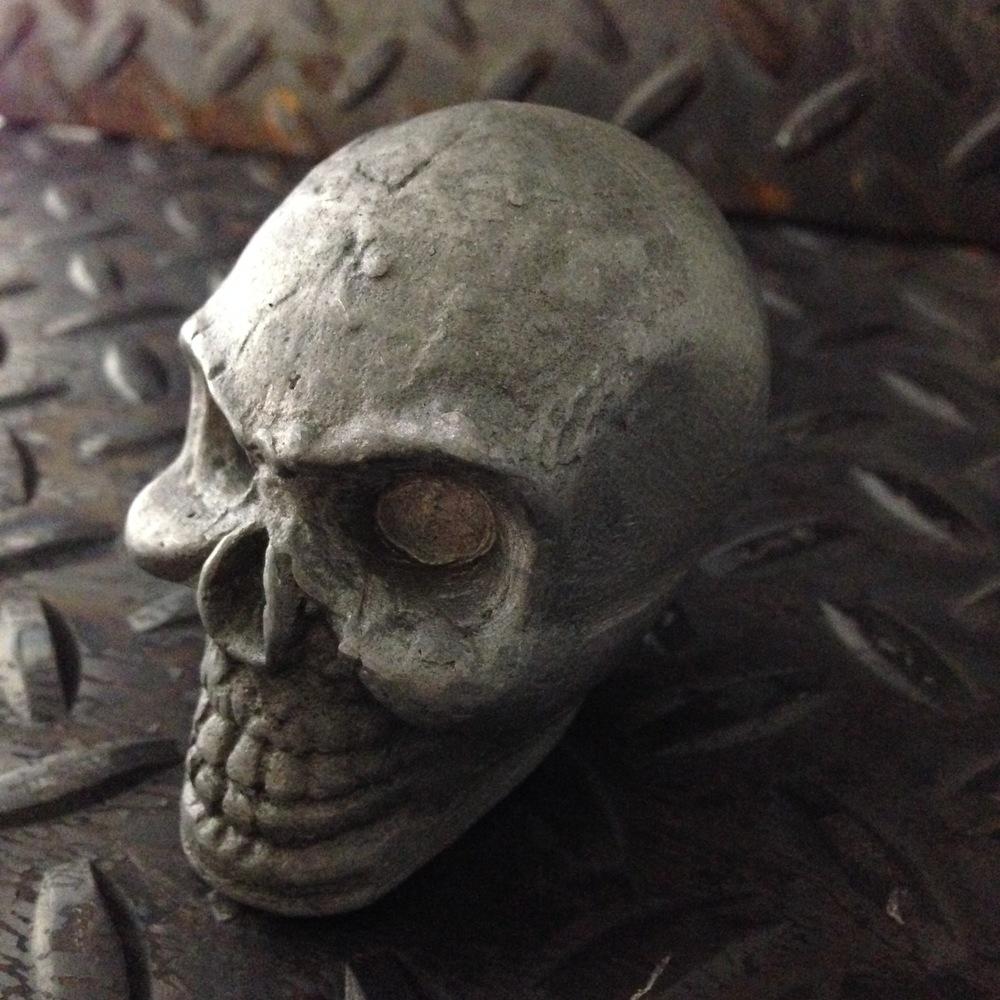 Aluminium Cast Skull Shifter Knob