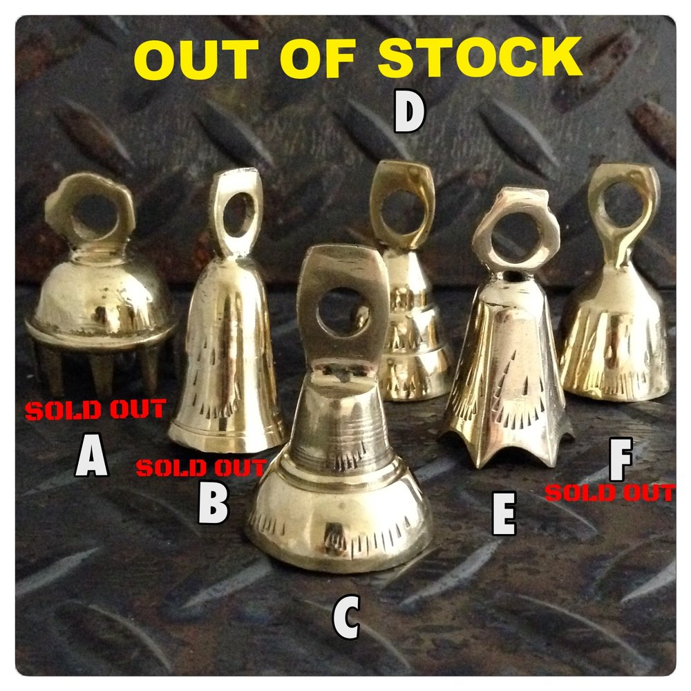 Selection of Brass Guardian Bells