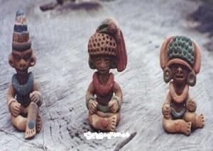 Aluxes. Mayan