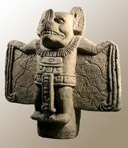 Camazotz. Mayan Bat God