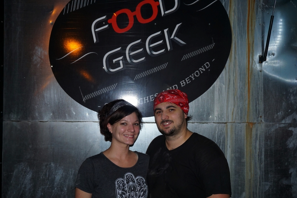 Food Geek owners James and Laura Norman