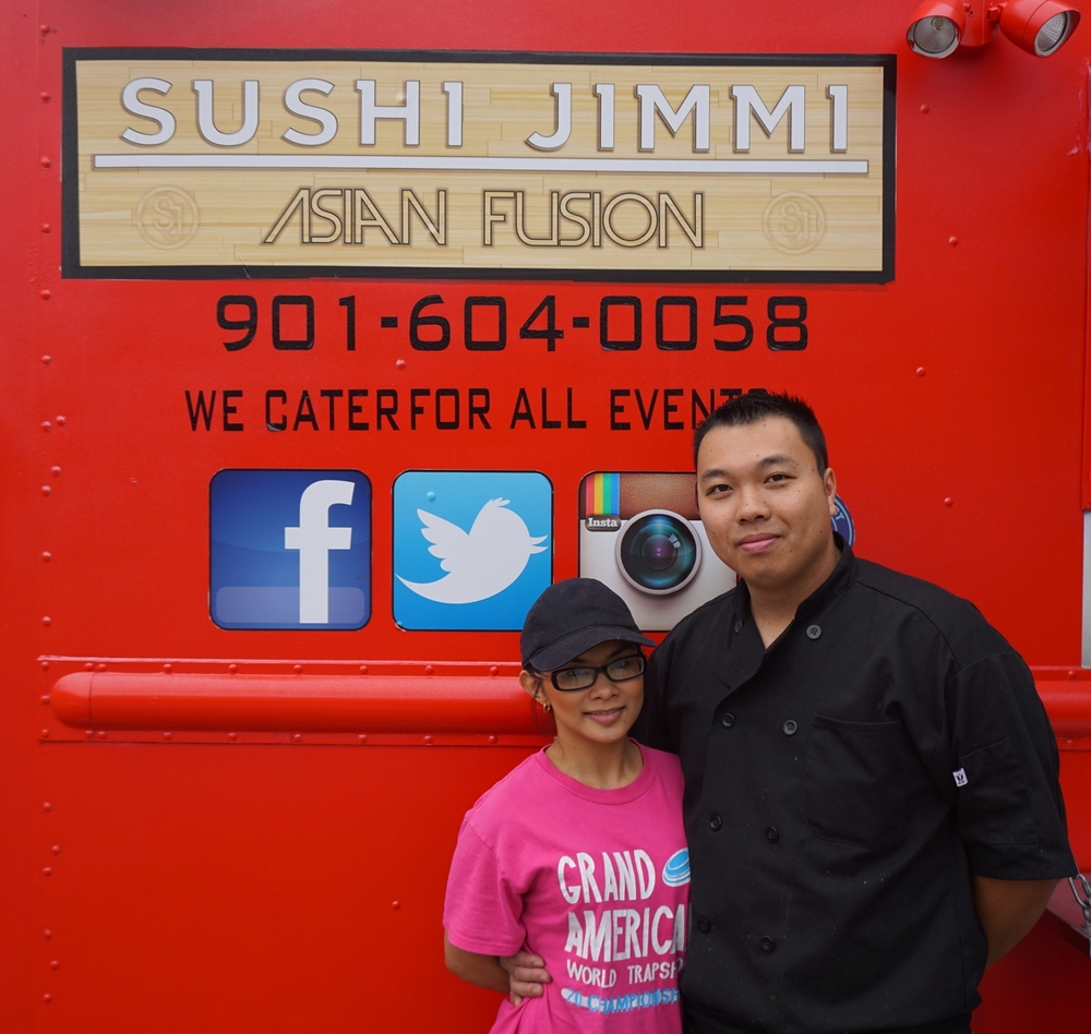 Owners Jimmy and May Sinh