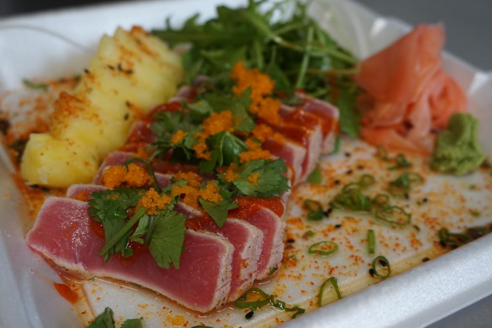 Spicy Tuna Tataki, $14