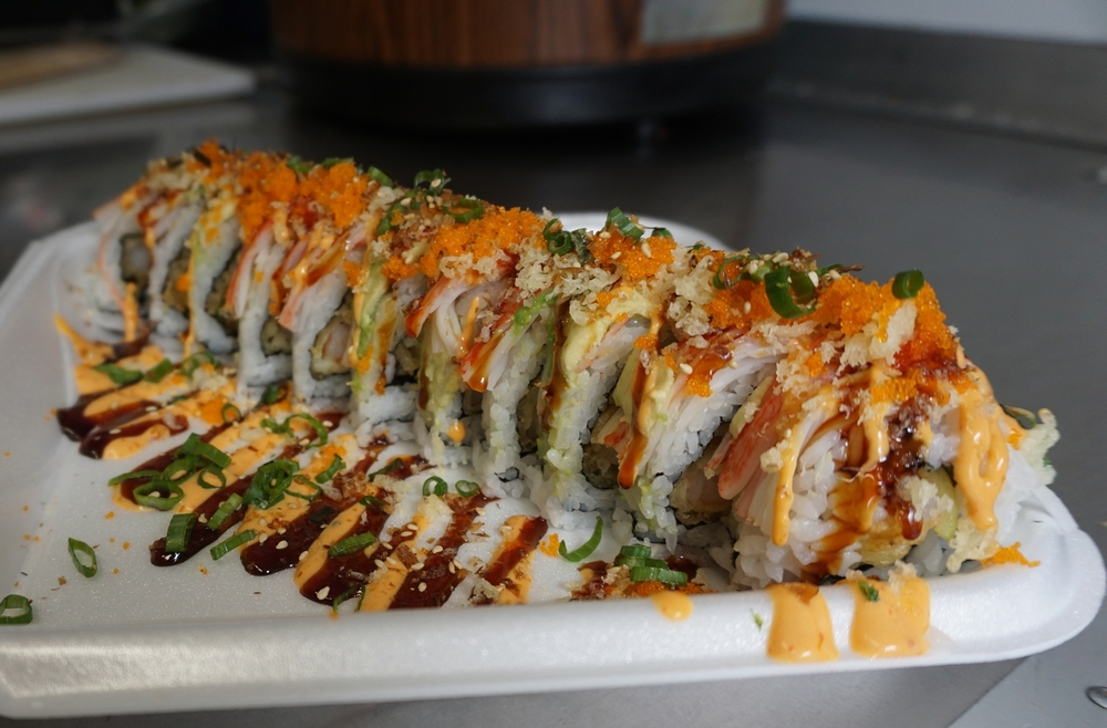 The LA Roll, best seller, $12
