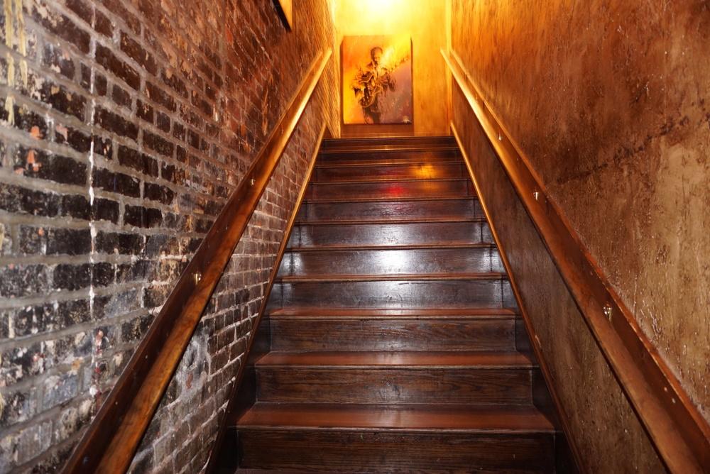 The secret staircase to Itta Bena!!