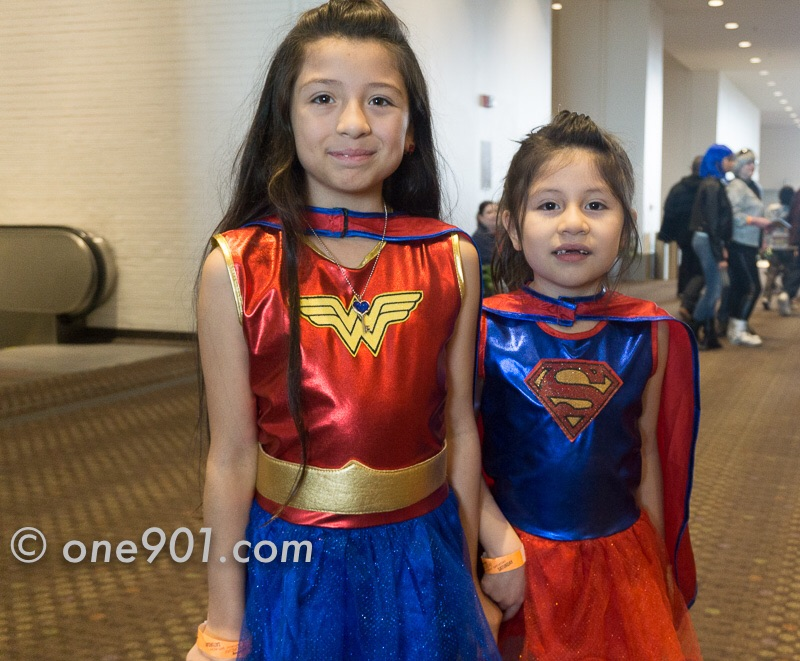Wonder Woman and Super Girl!!
