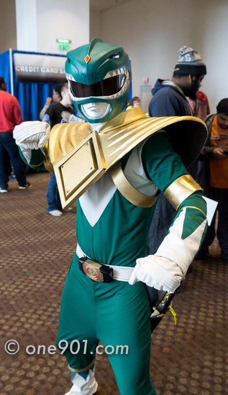 The Green Ranger made an appearance