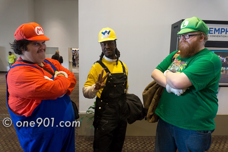 How often do you see Mario, Luigi and Wario hanging out?