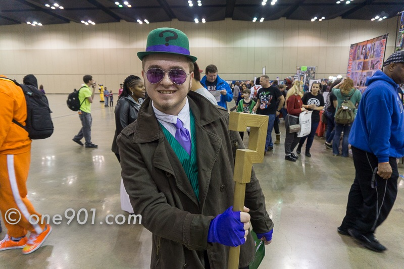 The Riddler! I still can't figure out the riddle he gave me.