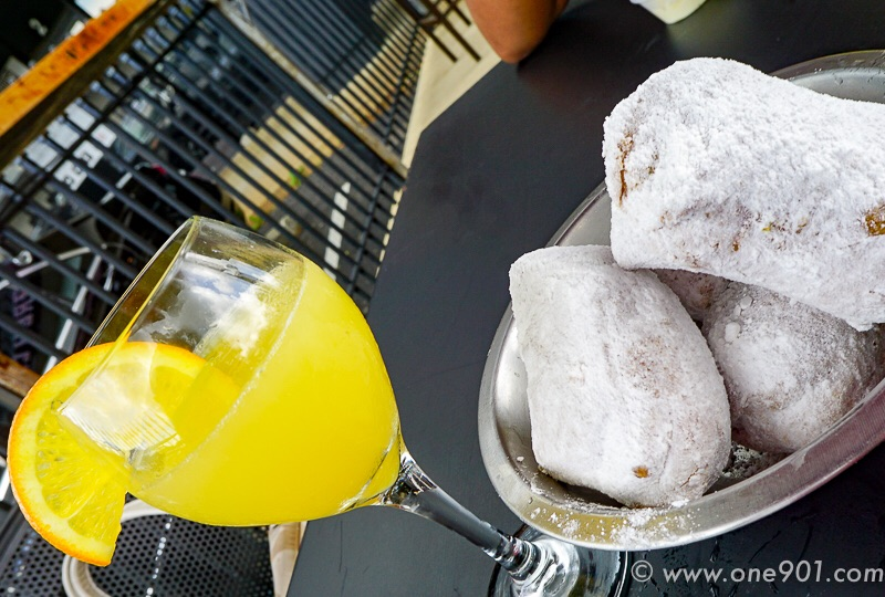 Man-mosas and Beignets