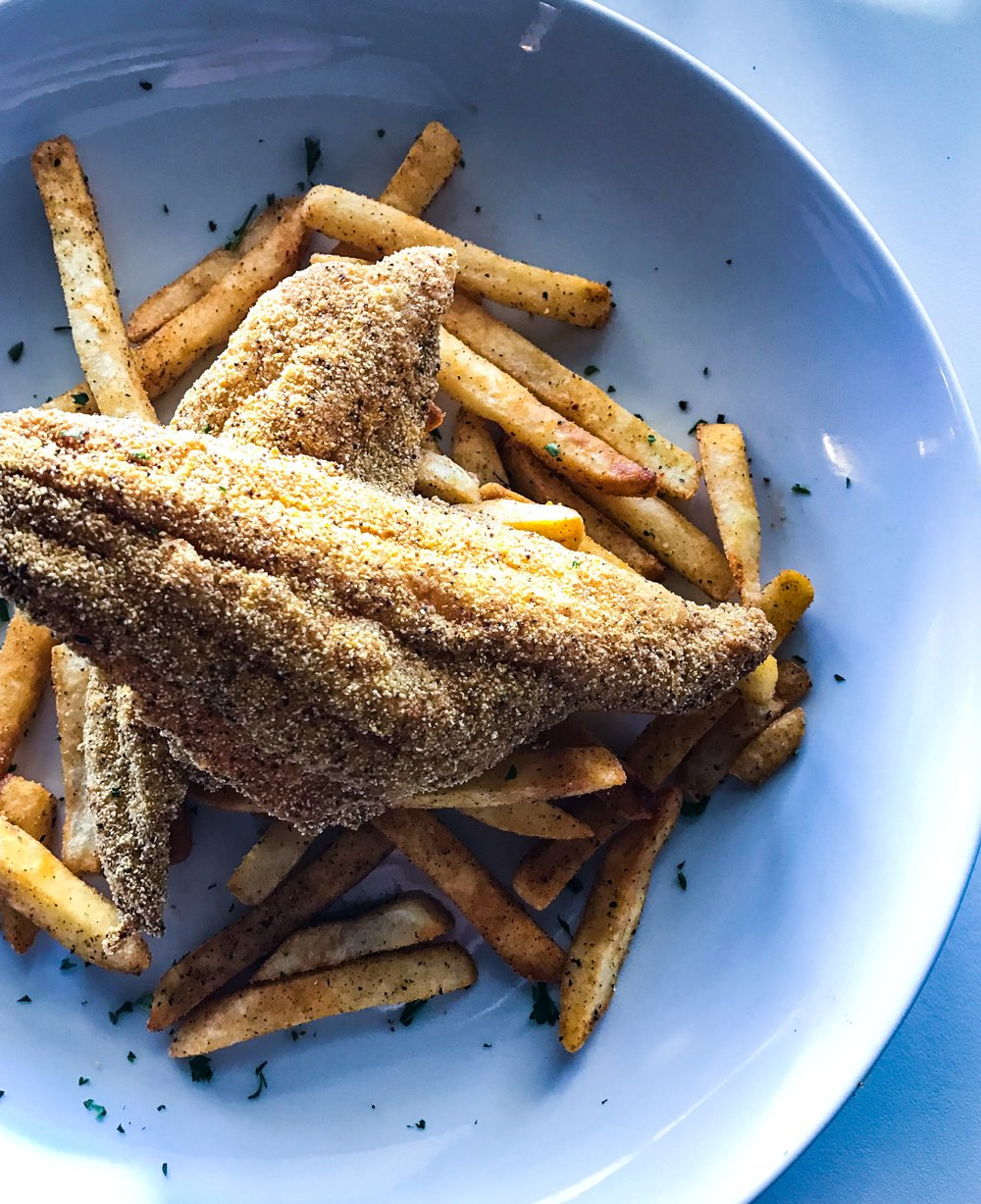 Catfish and Fries