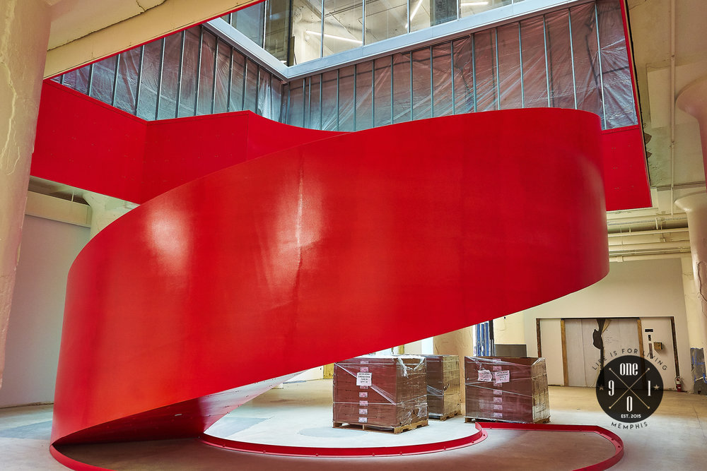 Big Red Staircase