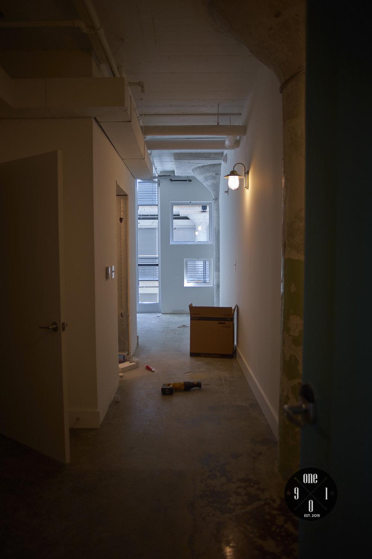 Resident entryway
