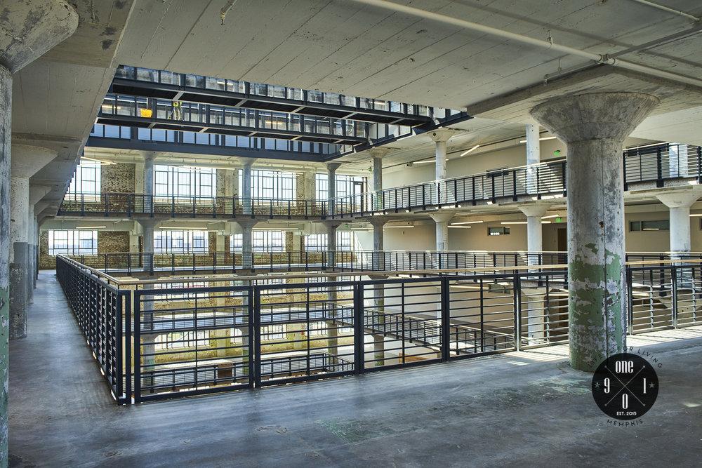 10th Floor public area