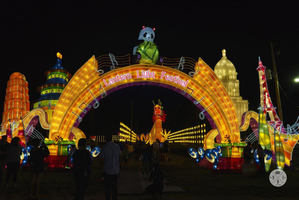 Entrance into Festival