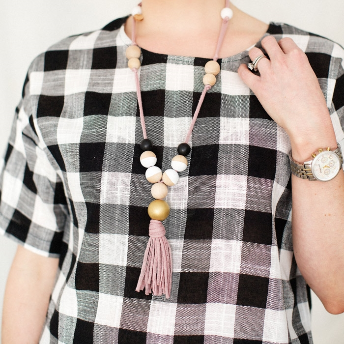 Tassel Necklace ~ Conflicted Pixie