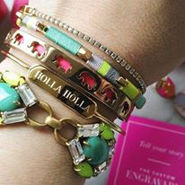 Engravable Bar Cuff ~ stella & dot